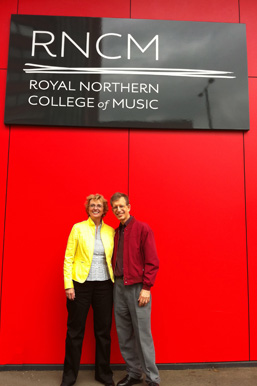 Jan Boland, John Dowdall at the Royal College of Music 2010