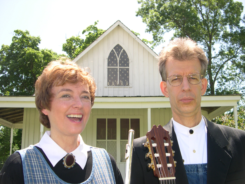 Jan Boland and John Dowdall _ American Gothic