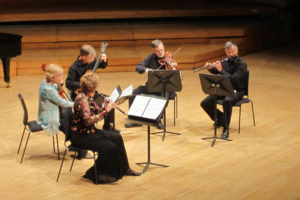 Jan Boland, Douglas Worthen, David Miller, John Dowdall, Loretta O'Sullivan at the Royal College of Music