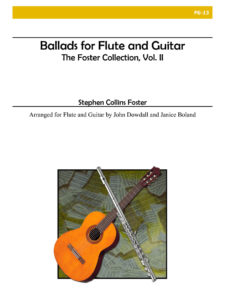Boland Foster Ballads for flute and guitar