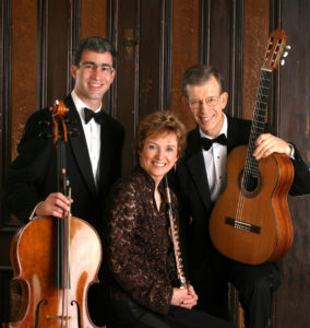 The Red Cedar Trio. Carey Bostian, Jan Boland, John Dowdall