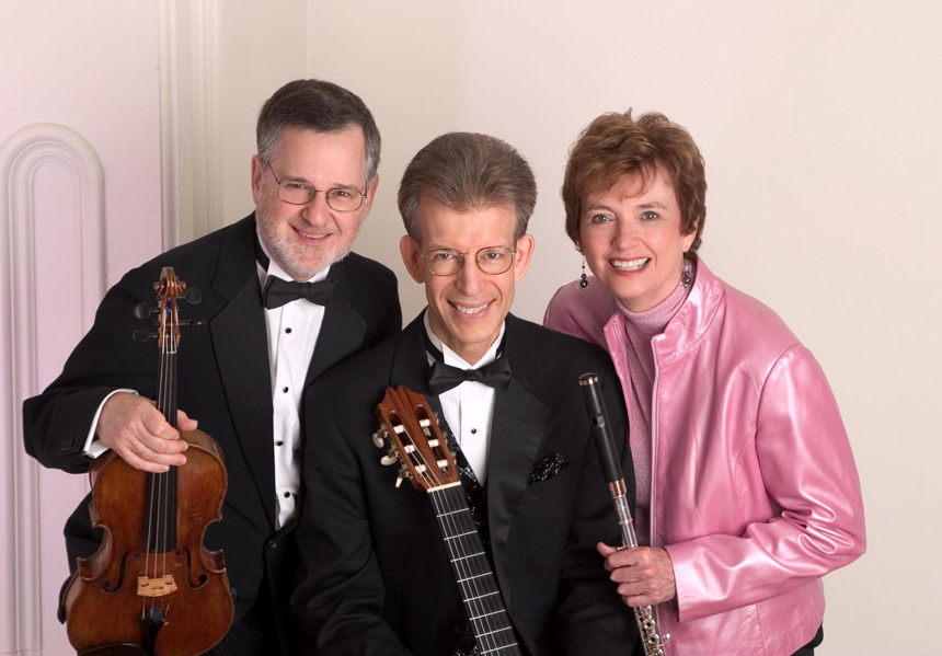 Red Cedar Trio: David Miller, John Dowdall, Jan Boland